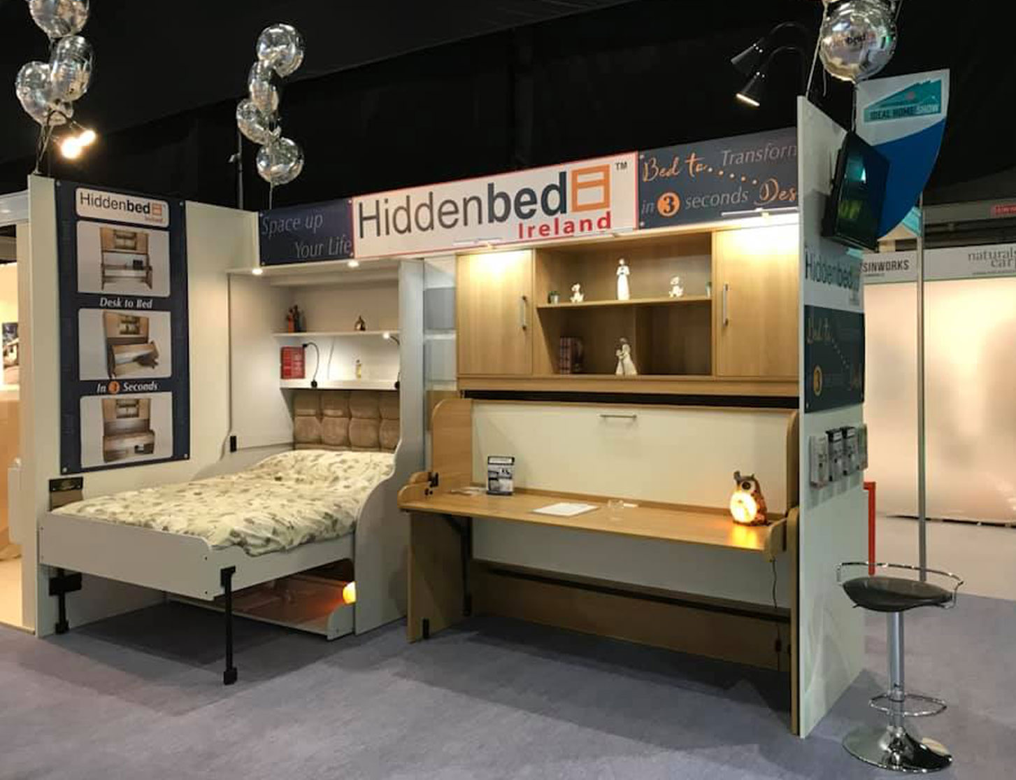 hiddenbed tradeshow